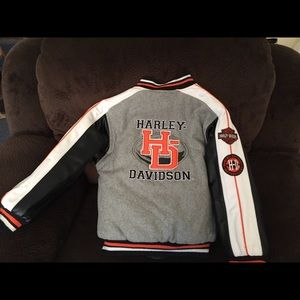 Children Harley Davidson Reversible Jacket